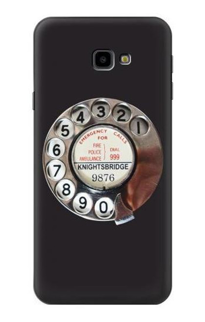 S0059 Retro Rotary Phone Dial On Case For Samsung Galaxy J4+ (2018), J4 Plus (2018)