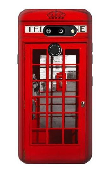 S0058 British Red Telephone Box Case For LG G8 ThinQ
