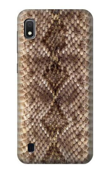 S2875 Rattle Snake Skin Graphic Printed Case For Samsung Galaxy A10