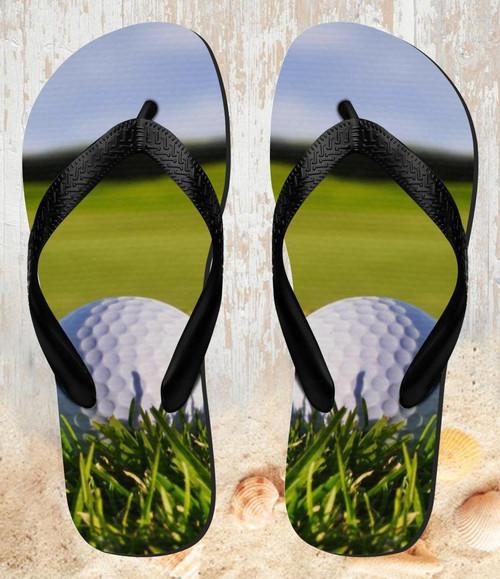 FA0008 Golf Beach Slippers Sandals Flip Flops Unisex