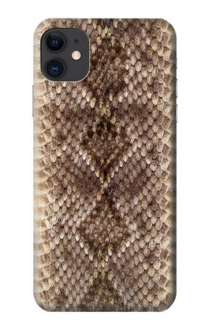 S2875 Rattle Snake Skin Graphic Printed Case For iPhone 11
