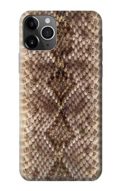 S2875 Rattle Snake Skin Graphic Printed Case For iPhone 11 Pro