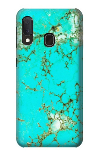 S2377 Turquoise Gemstone Texture Graphic Printed Case For Samsung Galaxy A20e