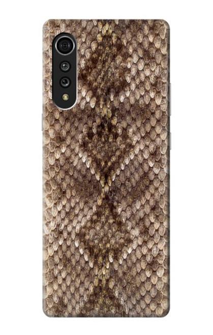 S2875 Rattle Snake Skin Graphic Printed Case For LG Velvet