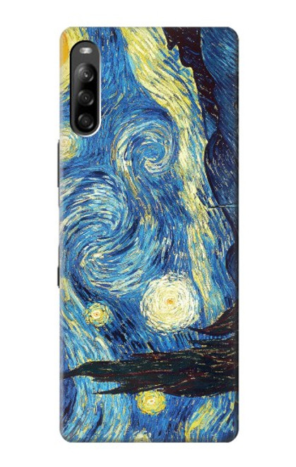 S0213 Van Gogh Starry Nights Case For Sony Xperia L4