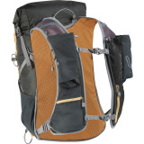 Ultimate Direction Fastpack 25, black, rear view