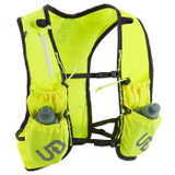 Ultimate Direction Marathon Vest V2 High Beam, high-vis yellow, rear view