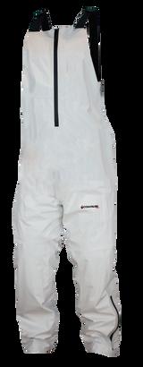 White - Hydrotek Rain Bibs