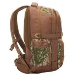 Slumberjack Sage 32 backpack, Realtree Edge print,  side view