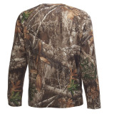 Slumberjack Deer Stalker Long Sleeve Top, Realtree EDGE Camo, rear view