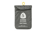 Sierra Designs Meteor 2 Footprint stored in the storage bag