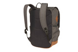 Back side view of the Sierra Designs Summit Daypack, showing the shoulder straps, carrying handle, and black mesh back panel
