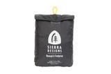 Sierra Designs Nomad 6 footprint stuff sack, black