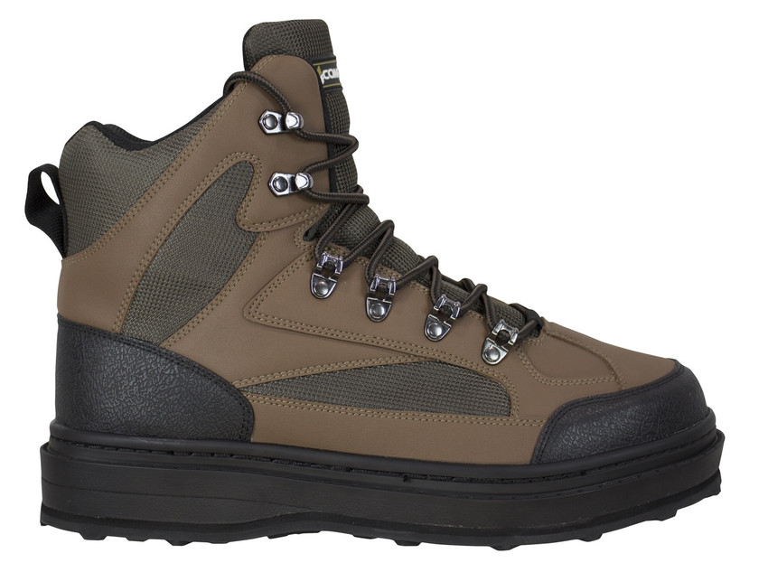 Coffee - Ledges Cleat Sole Wading Shoes W/Studs