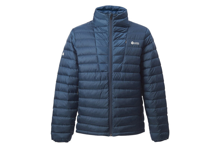 Bering Blue - Sierra Designs Men's Sierra Jacket, front view, fully zipped