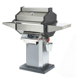 Phoenix Grills Stainless Gas Grill On Cast Aluminum Deck/Patio Base - SDSSOP