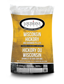 Louisiana Grills Pellets 40lb Wisconsin Hickory