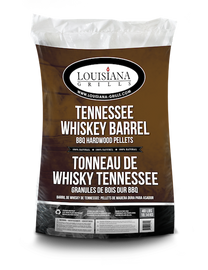 Louisiana Grills Pellets 40lb Tennessee Whiskey Barrel (100% Oak)