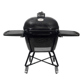Primo Oval XL 400 All-In-One Kamado Ceramic Grill - on Cart With Side Shelves - 7800