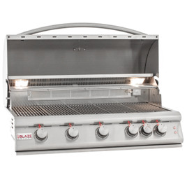 Blaze LTE 40-Inch 5-Burner Built-In Gas Grill With Rear Infrared Burner & Built-in Lighting - BLZ-5LTE2