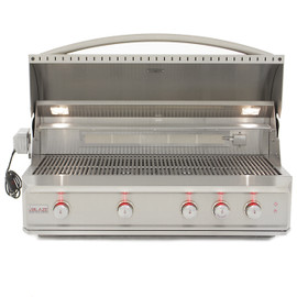 Blaze Professional 44 Inch 4-Burner Built-In Gas Grill With Rear Infrared Burner - BLZ-4PRO Stainless Steel