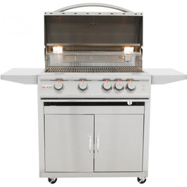 Blaze LTE 32-Inch 4-Burner Gas Grill With Rear Infrared Burner & Built-in Lighting - BLZ-4LTE2
