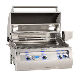Fire Magic Echelon Diamond E660I 30-Inch Built-In Natural Gas Grill With Rotisserie and Digital Thermometer - E660I-8E1N