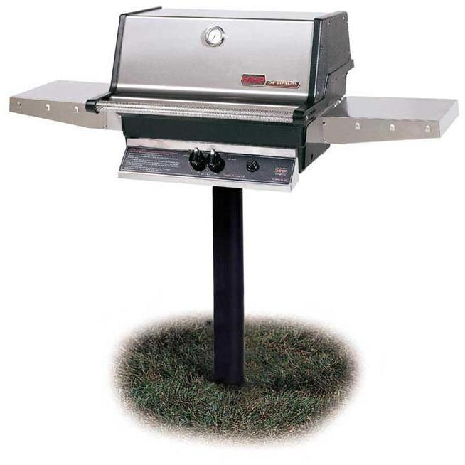 In-Ground/Post Gas Grills