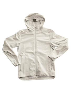 The front side of the limited edition Fast Lite Jacket.
