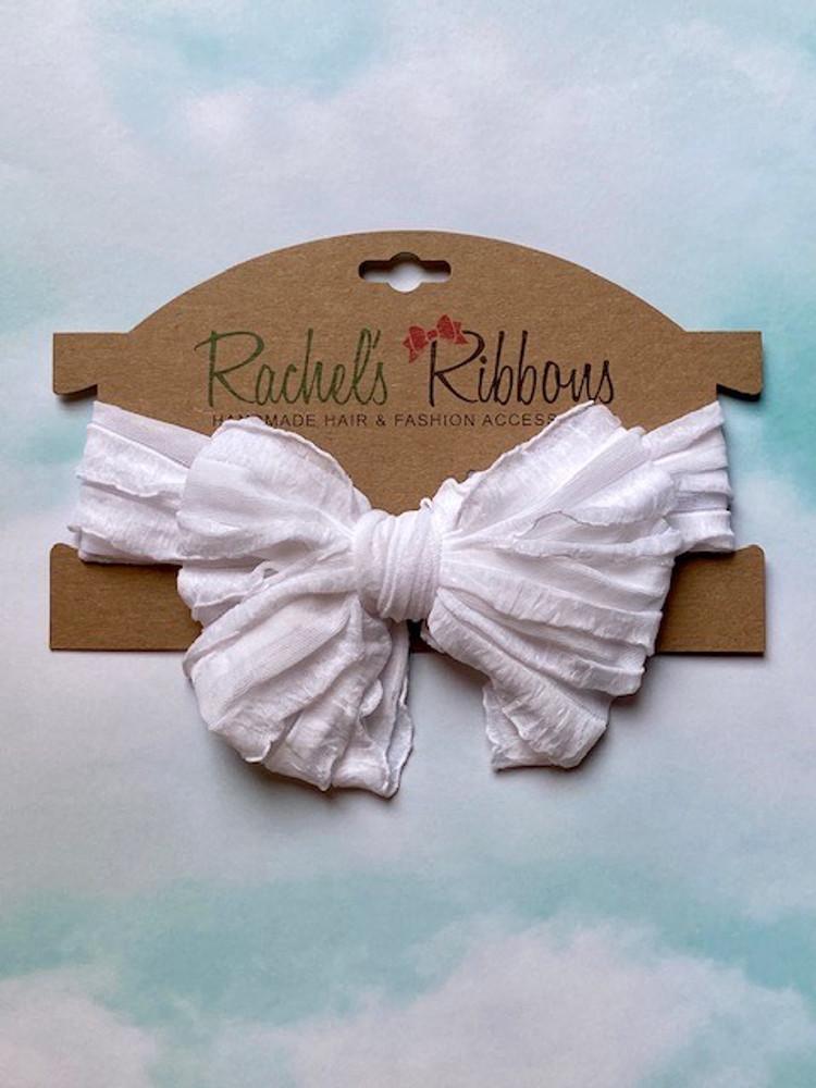Ruffled Bow Headband