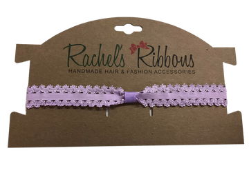 Infant Stretch Lace Headband