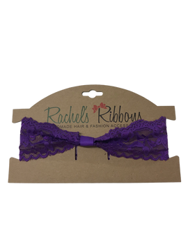 Toddler Lace Headband - Carded