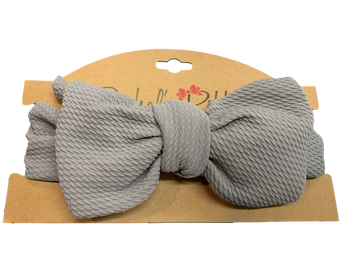 Fabric Bow Headwrap