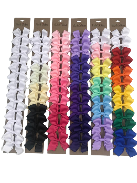 Toddler Quick Strip - Solids Available in All White, Neutrals, Pinks, Purples, Pastels, Brights