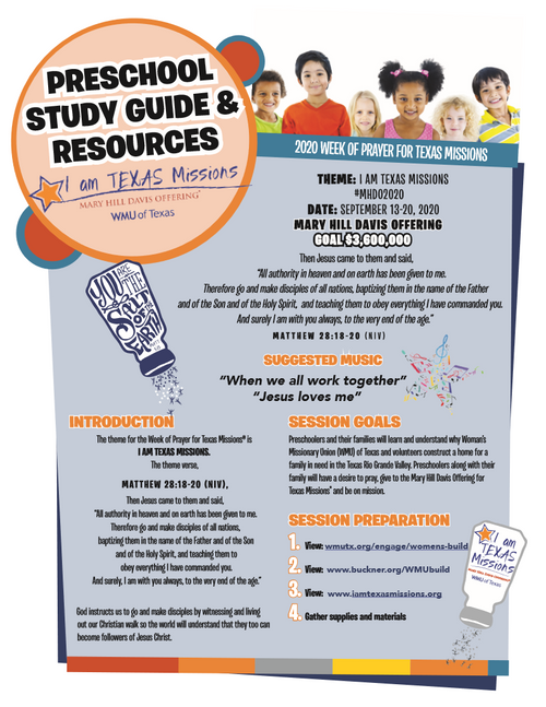 Mary Hill Davis - English Preschool Resources & Study Guide (pg1)
