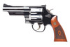 Smith and Wesson 27 357m/38s 4 6rd Bl/wd As