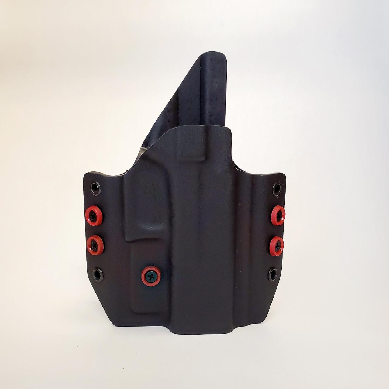 owb holster , range holster , outside the waistband kydex holster  for glock 19