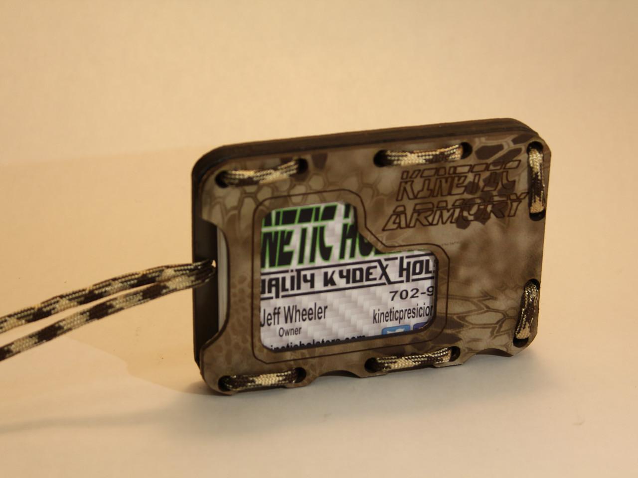 Kydex EDC MInimalist Wallet