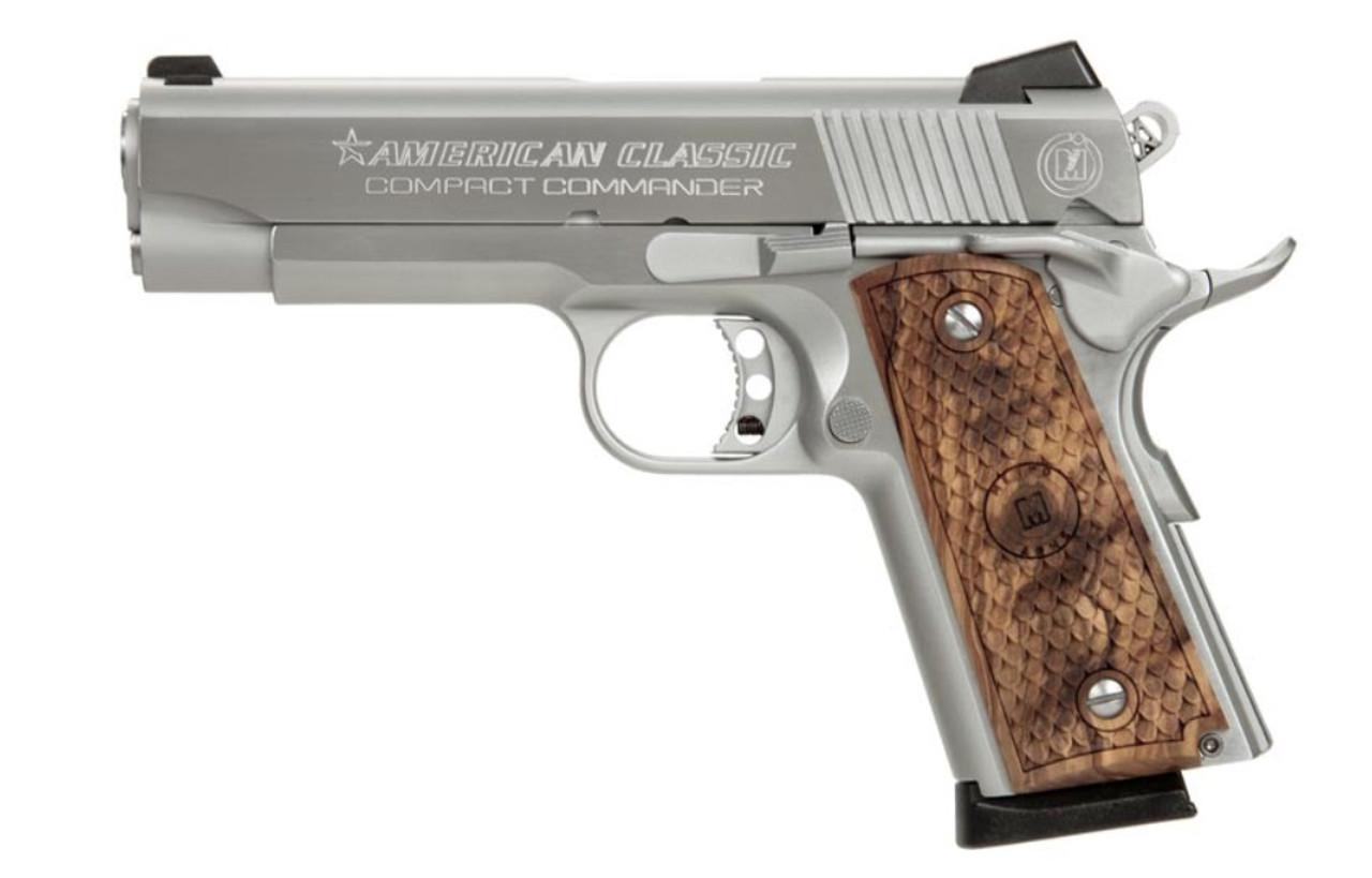 American Classic Commander 1911 45acp Hd Chrome
