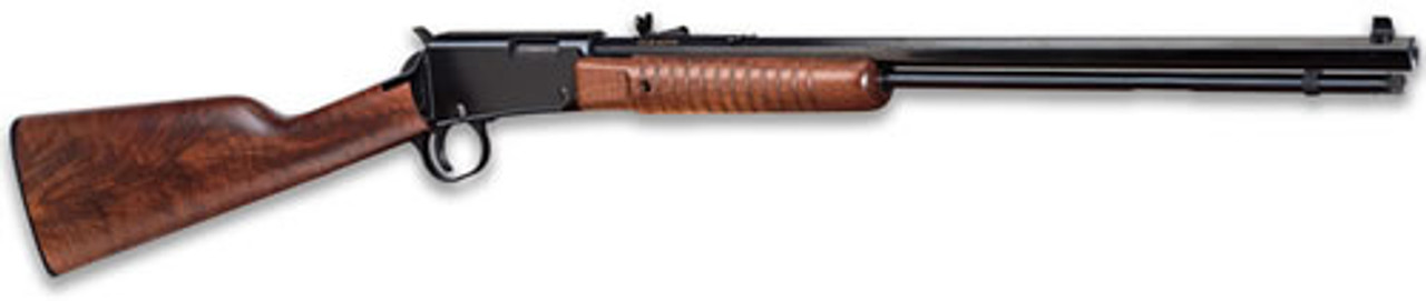 Henry Repeating Arms Pump Act 22mag Bl/wd Octagon