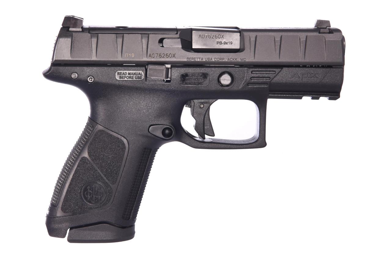 Beretta Apx Centurion Rdo 9mm Blk 15+1