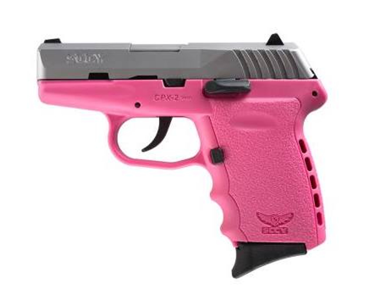 SCCY Industries Cpx-2 9mm Ss/pink 10+1