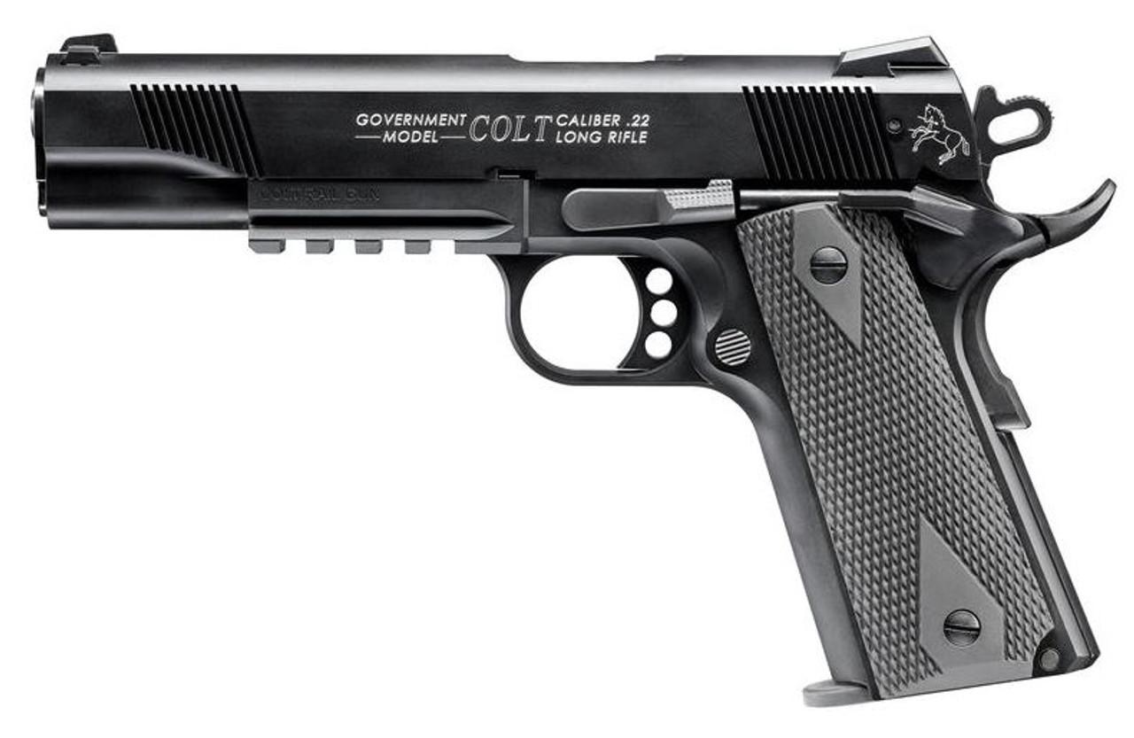 Walther Arms Colt Gov 1911a1 Rail 22lr 10+1
