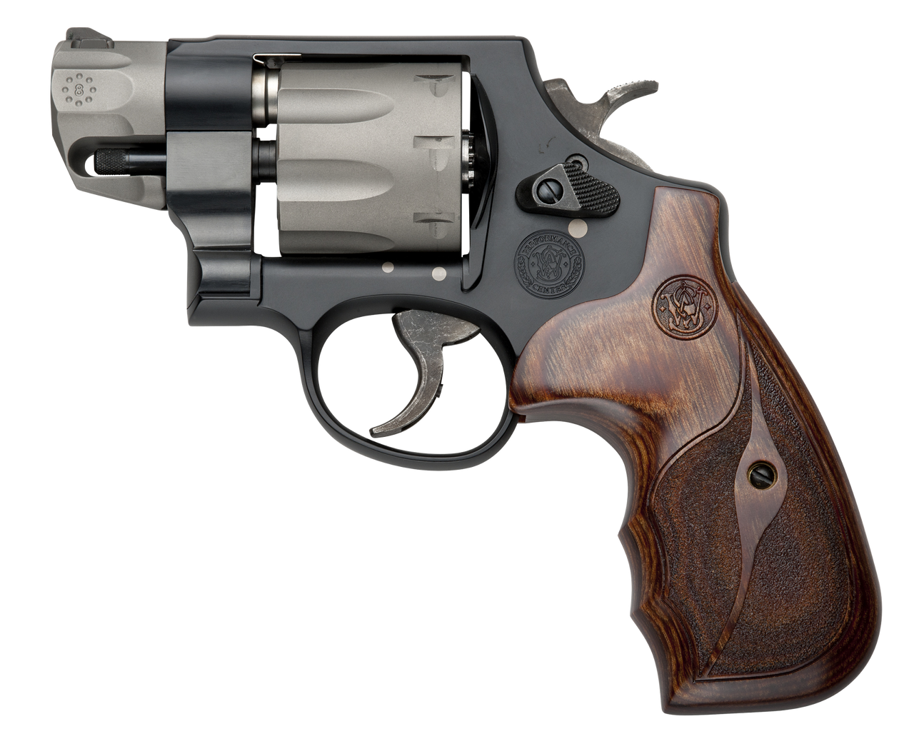 Smith and Wesson 327 Pc 357mag 2 Bl/wd Fs 8rd