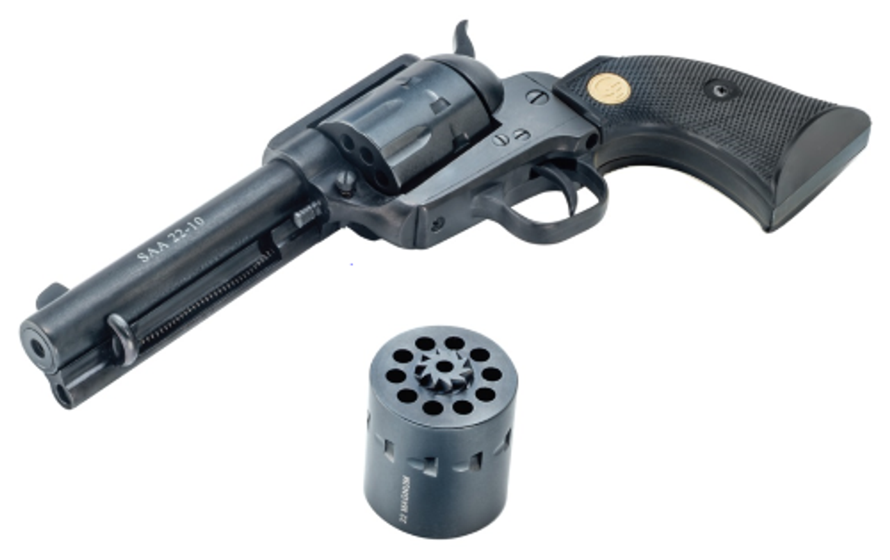 Chiappa Firearms Chiappa Saa 22-10 22l/22m 4.75