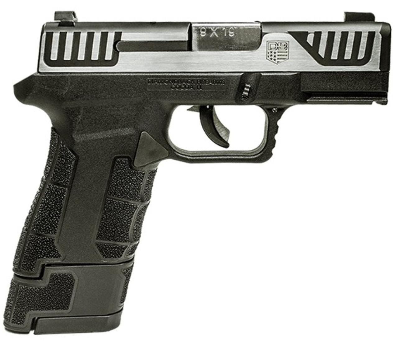 Diamondback Firearms Am2 9mm Ss Sub Cmpt 15+1 3.5
