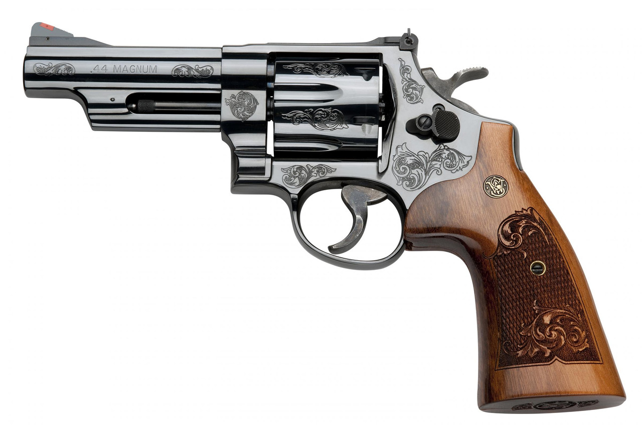 Smith and Wesson 29 Engraved 44m/44s Bl/wd 4