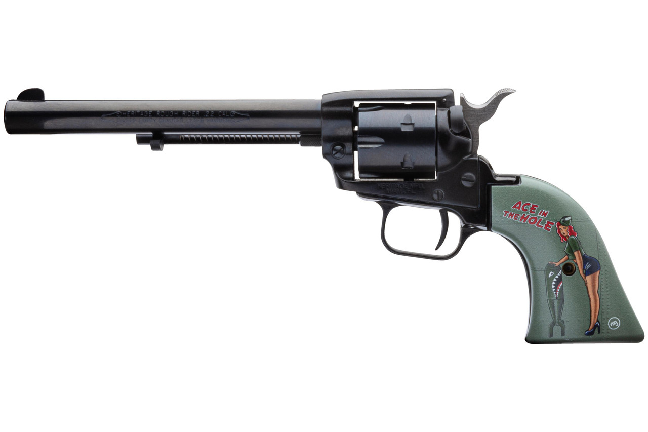 Heritage Manufacturing 22lr Blue 6.5 Ace In The Hole
