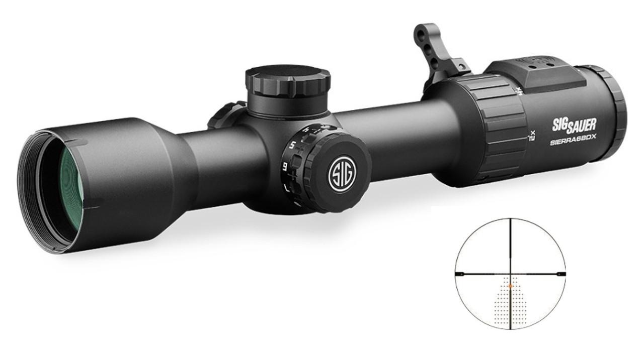SIG SAUER Sierra6bdx 2-12x40 30mm Bdx-r2
