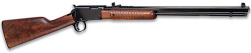 Henry Repeating Arms Pump Action 22lr Bl/wd Octagon
